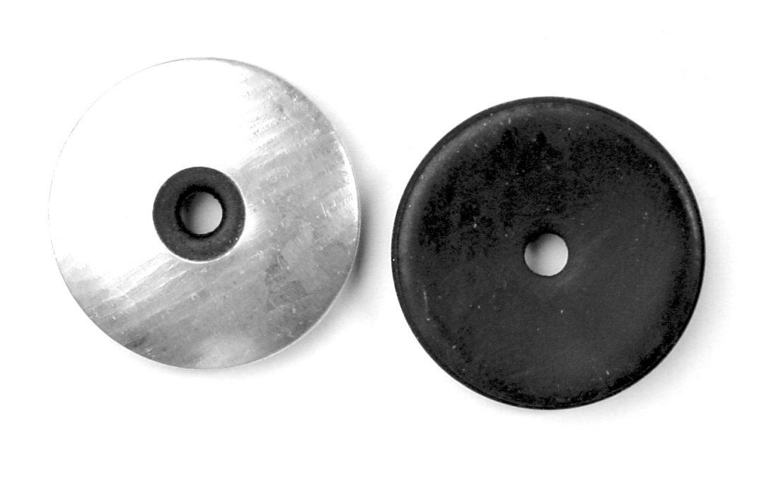 Arandela Caucho Metal de Neopreno Vulcanizado EPDM
